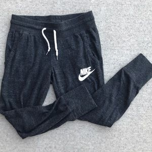 Dark grey Nike sweatpants